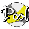 Pool-yellow and white