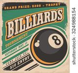 Billiards with 8 Ball